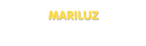Der Vorname Mariluz