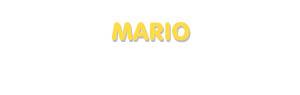 Der Vorname Mario