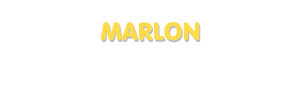 Der Vorname Marlon