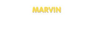 Der Vorname Marvin
