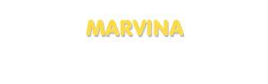Der Vorname Marvina