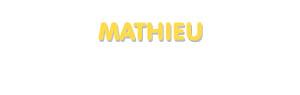 Der Vorname Mathieu