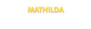 Der Vorname Mathilda