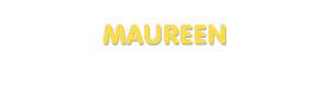 Der Vorname Maureen