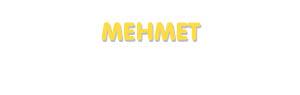 Der Vorname Mehmet