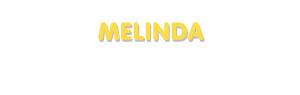 Der Vorname Melinda