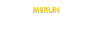 Der Vorname Merlin