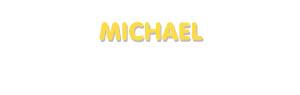Der Vorname Michael