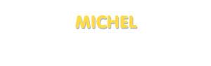 Der Vorname Michel
