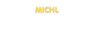 Der Vorname Michl