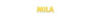 Der Vorname Mila