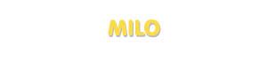 Der Vorname Milo