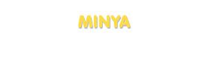 Der Vorname Minya