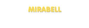 Der Vorname Mirabell