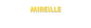 Der Vorname Mireille