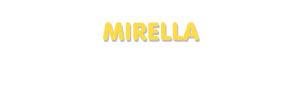 Der Vorname Mirella