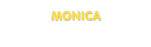 Der Vorname Monica