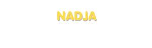 Der Vorname Nadja