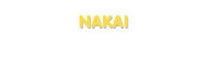 Der Vorname Nakai
