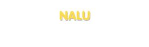 Der Vorname Nalu
