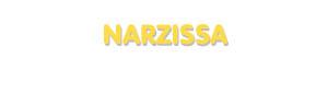 Der Vorname Narzissa