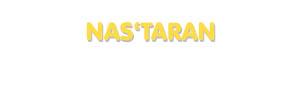 Der Vorname Nas'taran
