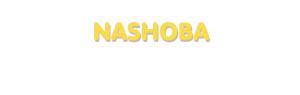 Der Vorname Nashoba