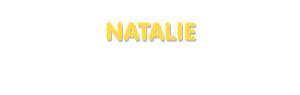 Der Vorname Natalie