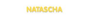 Der Vorname Natascha