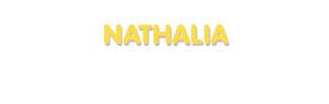Der Vorname Nathalia