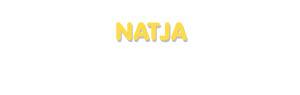 Der Vorname Natja