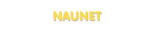 Der Vorname Naunet