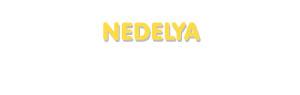 Der Vorname Nedelya