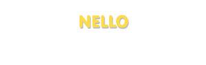 Der Vorname Nello