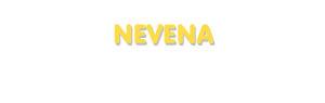 Der Vorname Nevena