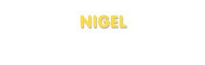 Der Vorname Nigel