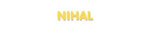 Der Vorname Nihal