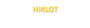 Der Vorname Niklot