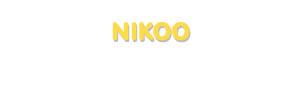 Der Vorname Nikoo