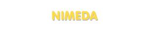 Der Vorname Nimeda