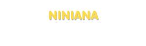 Der Vorname Niniana