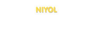 Der Vorname Niyol