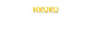 Der Vorname Nkuku