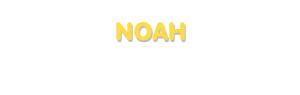 Der Vorname Noah
