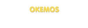 Der Vorname Okemos