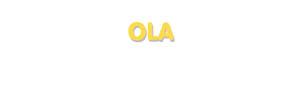 Der Vorname Ola