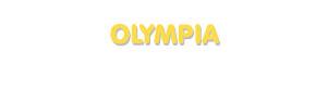 Der Vorname Olympia