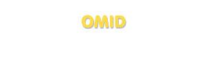 Der Vorname Omid