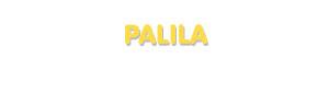 Der Vorname Palila