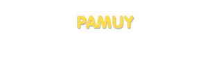 Der Vorname Pamuy